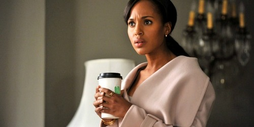 Kerry Washington in a scene from Scandal
