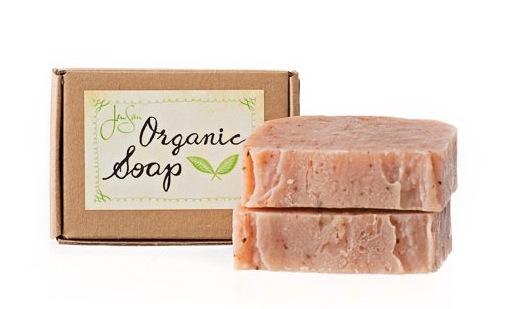 JenSan Patchouli Rose Organic Soap Bar