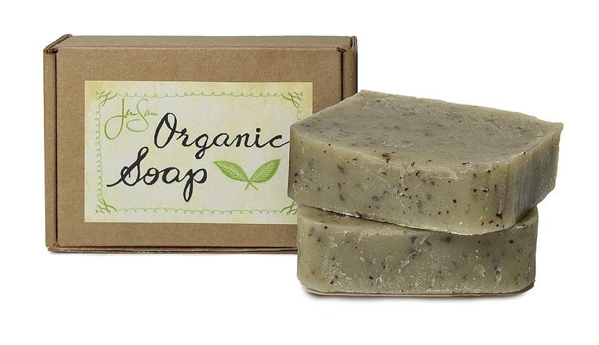 JenSan Mint Tea Organic Soap